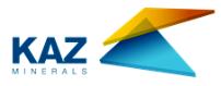 логотип Казминералс 2019